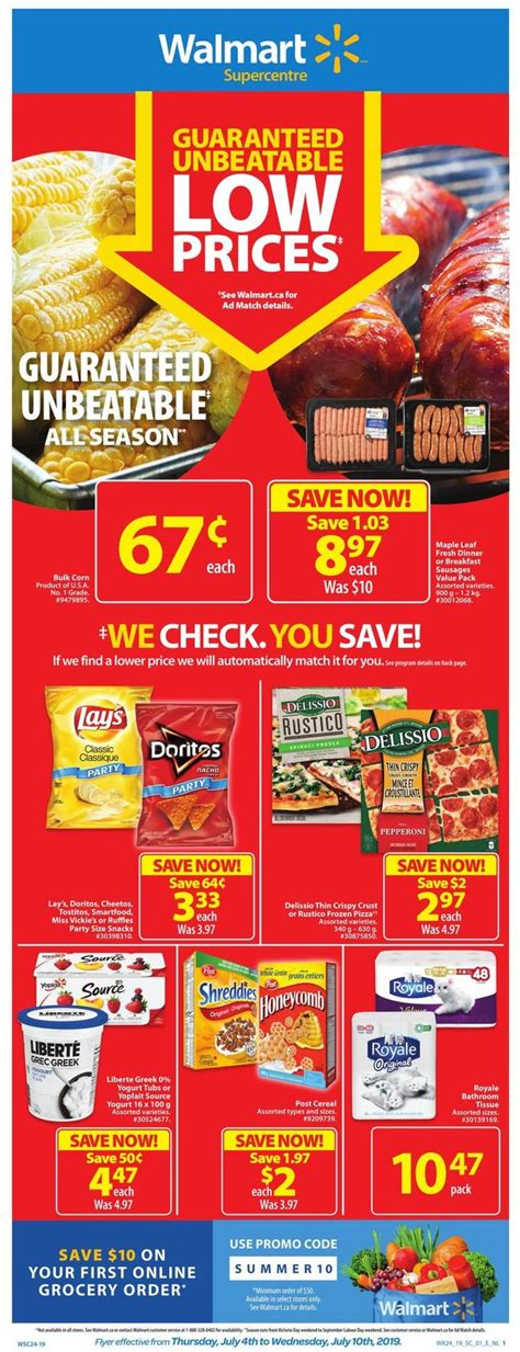 Walmart Current flyer 07/04   07/10/2019   flyers canada.com