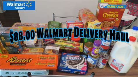 WALMART DELIVERY GROCERY HAUL #WALMART #DELIVERY # ...