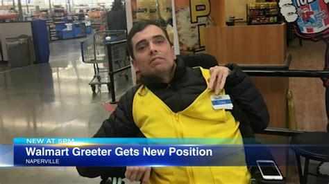 Walmart greeter with cerebral palsy gets new job at ...