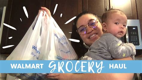 WALMART GROCERY DELIVERY HAUL  LESS THAN $100  | JANUARY ...