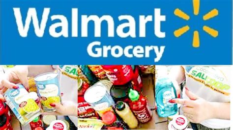 WALMART GROCERY DELIVERY HAUL | Online Grocery Shopping ...