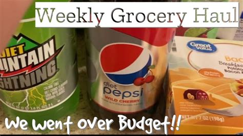WALMART GROCERY DELIVERY HAUL | WEEKLY GROCERY HAUL ...
