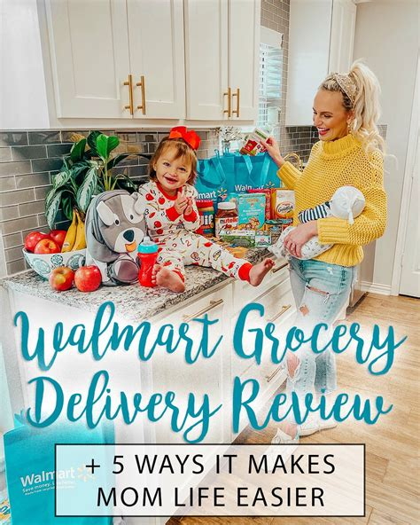 Walmart Grocery Delivery Review   5 Ways it makes Mom Life ...