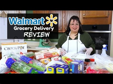 Walmart Grocery Delivery Review | Ordering Grocery ...