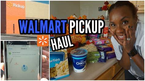 WALMART GROCERY PICKUP HAUL   Online Grocery Shopping ...