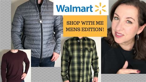 WALMART HAUL Shop with Me Try On MENS EDITION November ...