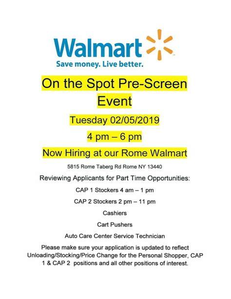 Walmart Hiring Event | Working Solutions