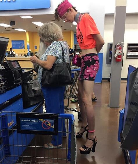 Walmart is a great place to find randomized characters ...