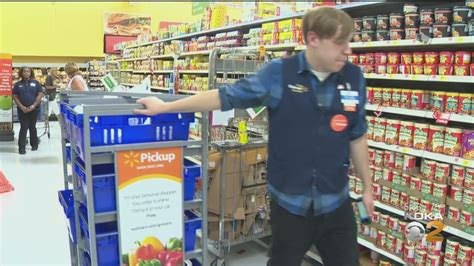 Walmart Launching Grocery Home Delivery Service – CBS ...