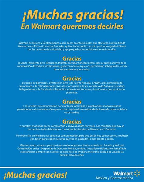 WALMART mexico y centroamerica comunicado de ...