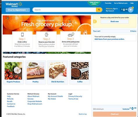 Walmart Online Grocery Pickup_How it Works