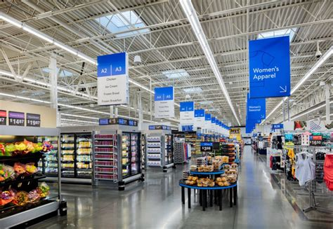 Walmart Redesigns Store Format With New Contactless Features