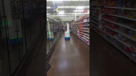 Walmart Robot Scanning Inventory on Sales floor   YouTube