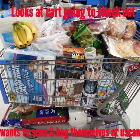 Walmart shoppers be like: : walmart