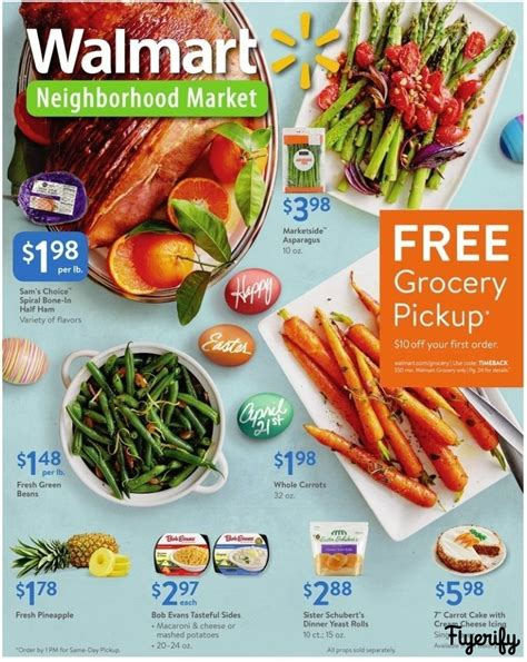 Walmart  TX  Weekly Ad & Flyer March 29 to April 13 Canada