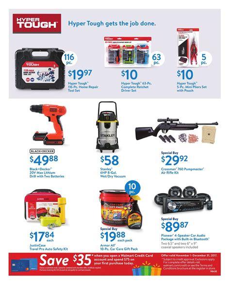 Walmart Weekly Ad December 3   9, 2017