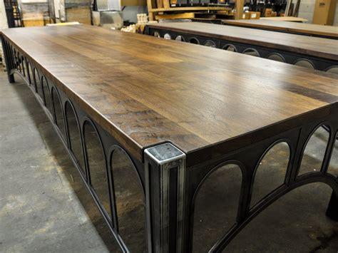 Walnut 42 Desks | Vintage Industrial Furniture