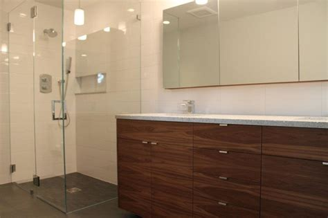 Walnut IKEA Bathroom   Contemporary   Bathroom   other ...