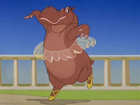 Walt Disney Fantasia Animal Hyacinth Hippo Wallpaper