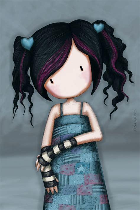 WANT HER HAIR!! :  hehe ~ ڿڰۣ Gorjuss by Suzanne Woolcott ...