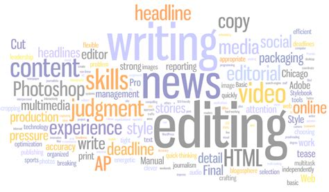 Wanted: Required Web journalism skills