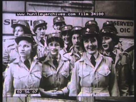War brides go to Canada in 1945. Film 34100   YouTube