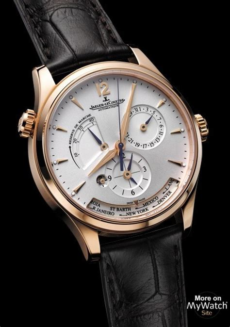 Watch Jaeger LeCoultre Master Geographic   Master Control ...