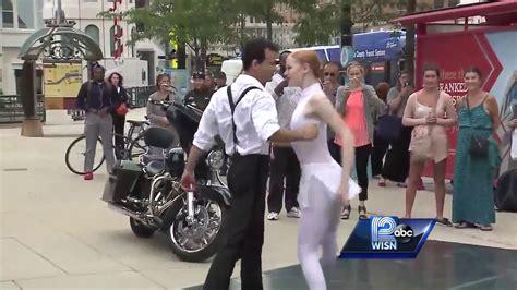 Watch: Milwaukee Ballet s Ballet Beat performance downtown ...
