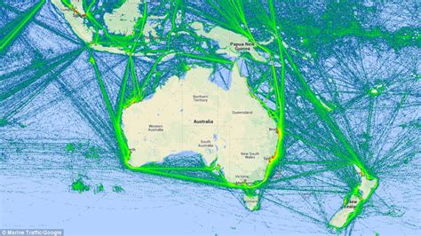 Watch the world s ships sail Earth s oceans in REAL TIME ...
