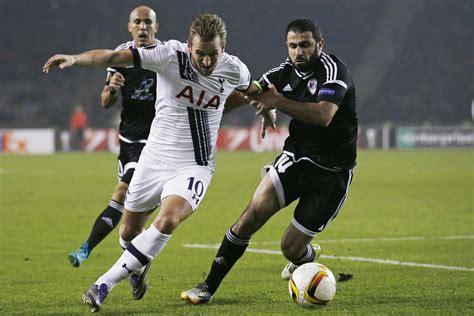 Watch Tottenham striker Harry Kane s goal against Qarabag ...