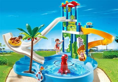 Water Park with Slides   6669   PLAYMOBIL United Kingdom