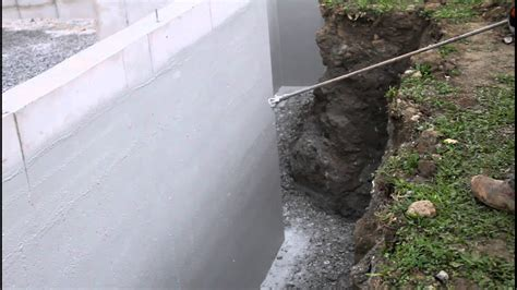 Waterproofing Foundation Wall + Foundation Coating ...