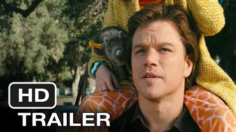 We Bought A Zoo  2011  Trailer   HD Movie   YouTube
