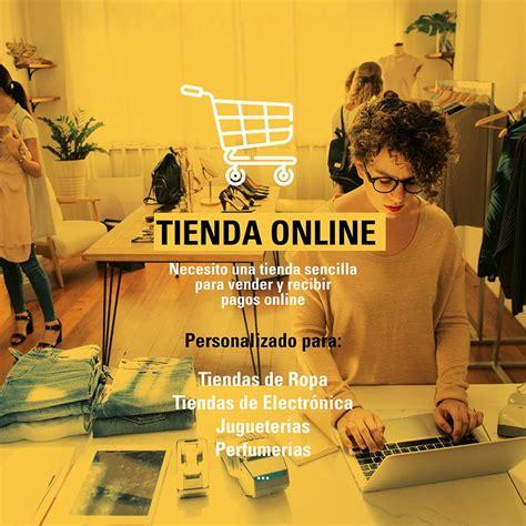 Web con Tienda Online Sencilla   The Room Social   Agencia ...