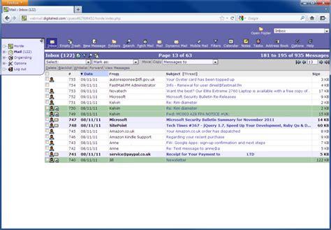 Webmail access | Digital Red