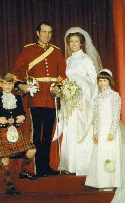 Wedding of Princess Ann and Capt. Mark Philips...1973 ...
