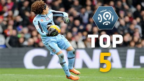 Week 35 : Best goalkeeper saves   Ligue 1   2013/2014 ...