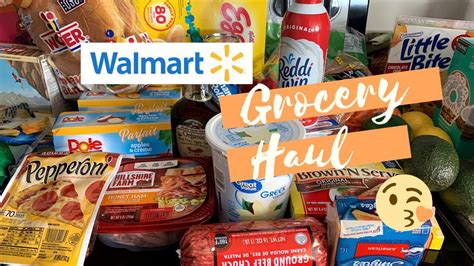 Weekly Walmart Grocery Haul 2020   YouTube