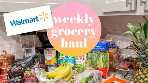 Weekly Walmart Grocery Haul w/ Prices   July 2020   YouTube