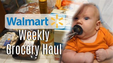 Weekly Walmart Grocery Haul!! | Walmart Grocery Delivery ...