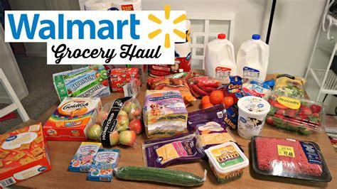 Weekly Walmart Grocery Haul!   YouTube