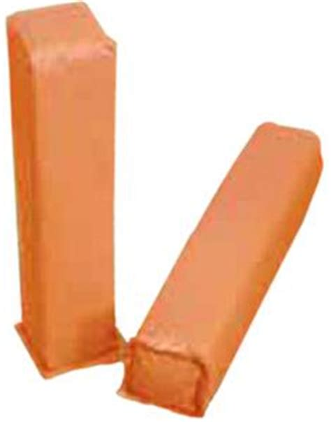 Weighted Orange Foam Corner Goal Markers Football ...