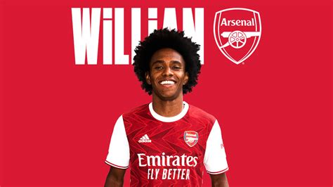 Welcome Willian! | Brazil forward joins Arsenal | News ...