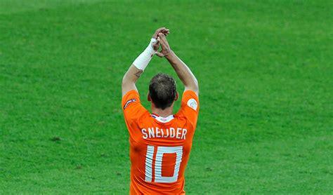Wesley Sneijder: leyenda de la selección holandesa anuncia ...