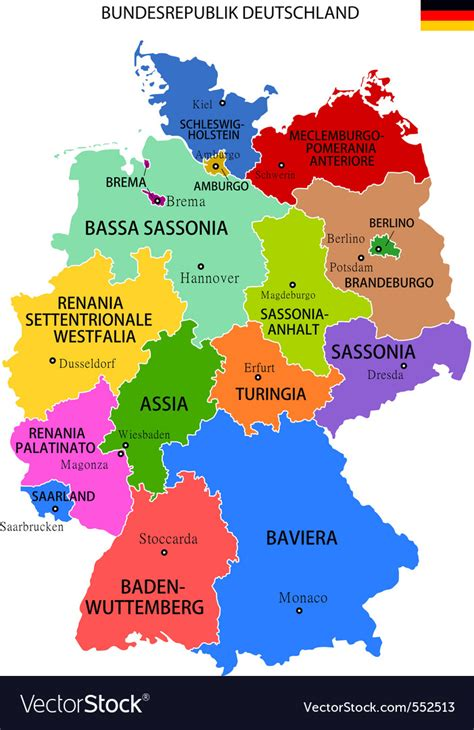 Westfalia germany map and travel information | Download ...