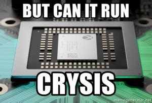 What Does But can it run Crysis? Mean? | Memes by ...