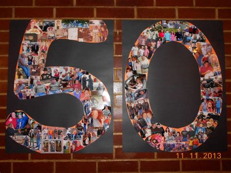What I made for my husband s surpise 50th Party ...