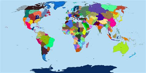 What if the world borders were to be made by me? by ...