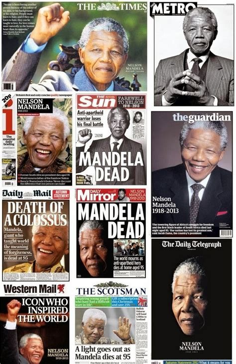 What in the World?: Nelson Mandela  1918 2013 : Some ...