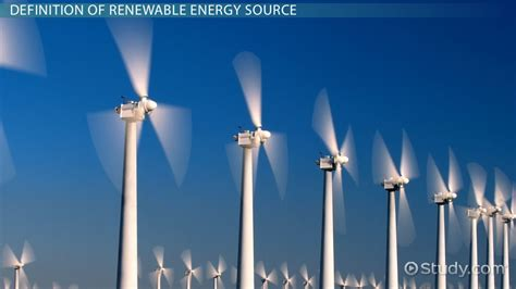 What Is a Renewable Energy Source?   Definition & Example ...